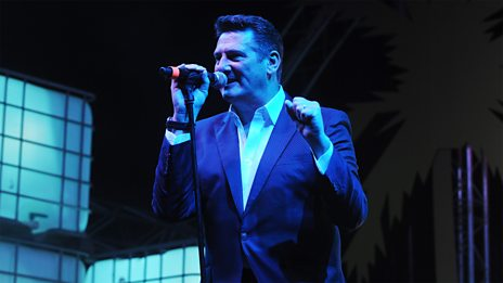 Tony Hadley performs live from Ibiza