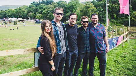 Glasswings perform 'Keep Me Strong' in the Stendhal cornfields