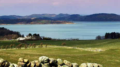 The lulling sound of the turning of the tide at Auchencairn Bay, Scotland