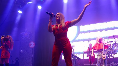 Clean Bandit perform live at Radio 2's All Star Party