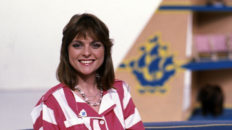 Janet Ellis looks back at her time on Blue Peter, and THAT jump!