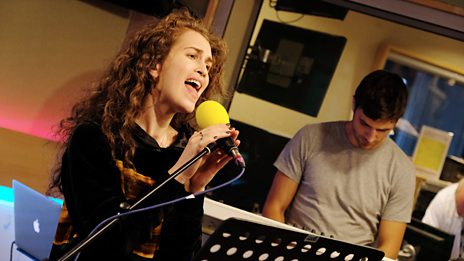 Rae Morris sings Dancing With Character LIVE