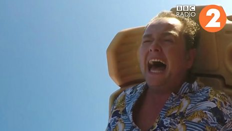 Alan Carr on THAT rollercoaster ride