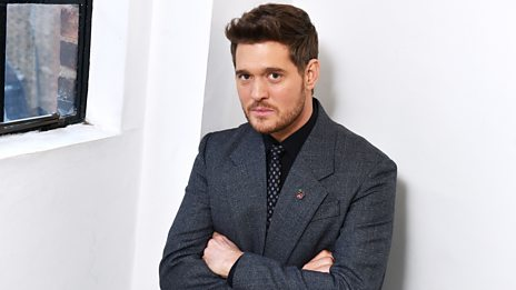 Who inspired Michael Bublé's love of music?