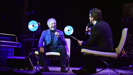 Sir Tom Jones in conversation with Michael Ball