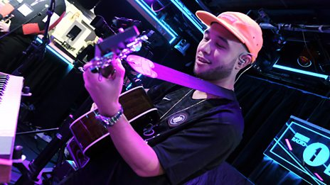 Live Lounge - Jax Jones