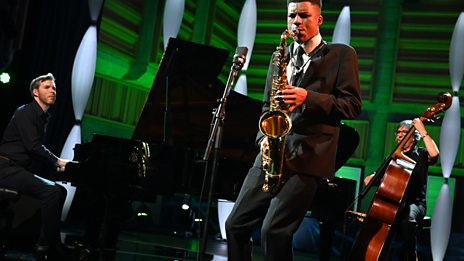 Xhosa Cole's performance at BBC Young Jazz Musician 2018