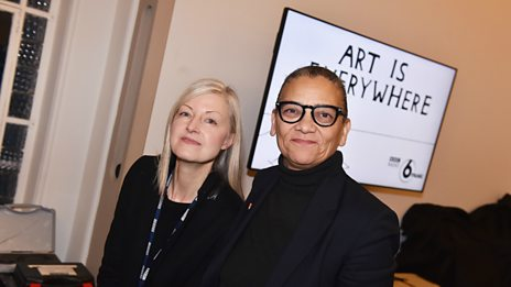 Mary Anne chats to 2017 Turner Prize winner Lubaina Himid
