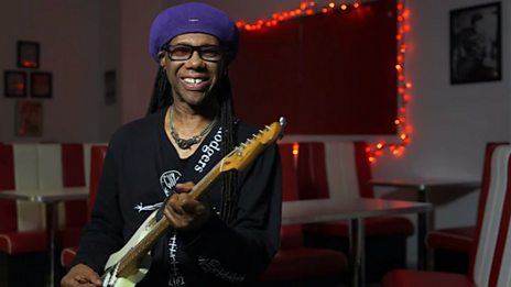 Nile Rodgers, Jerry Barnes and Jack Stratton on Bernard Edwards