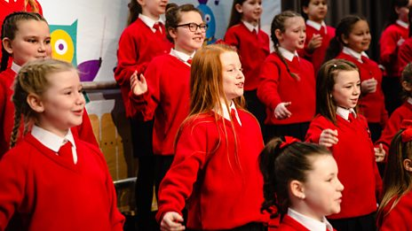 Holy Cross Girl's Primary, Belfast - I Just Can't Wait to Be King