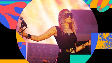 BBC Radio 1's Big Weekend - Miley Cyrus - Wrecking Ball