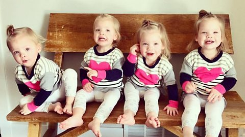 Couple's life changed by quadruplets