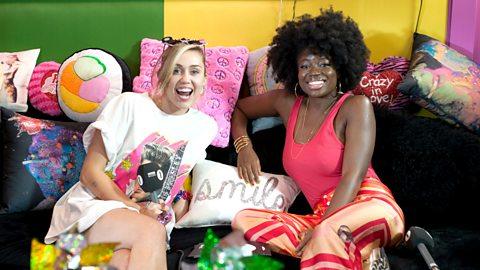 Radio 1's Live Lounge: Miley Cyrus chats to Clara Amfo