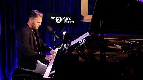 Gary sits at Elton's piano for a cover of JP Cooper's song in the Radio 2 Piano Room.