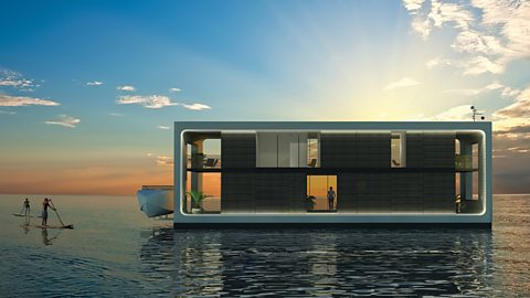 Revolutionary floating homes
