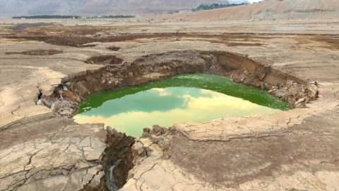 The eerie beauty of dangerous sinkholes