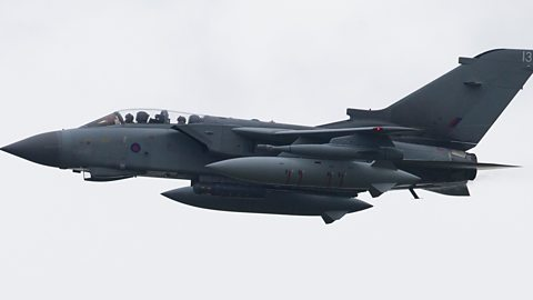 Race through the sky in an RAF Tornado