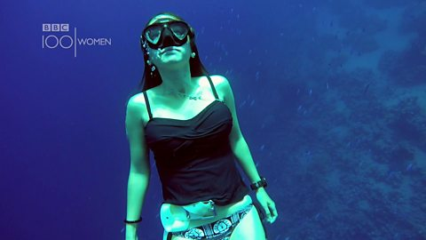 'You are truly free while freediving'