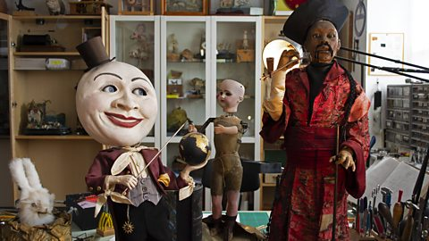The strange dolls that come to life