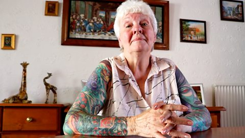 Never tattoo late, says 77-year-old