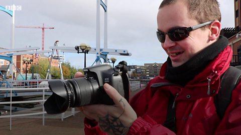 The blind photographer