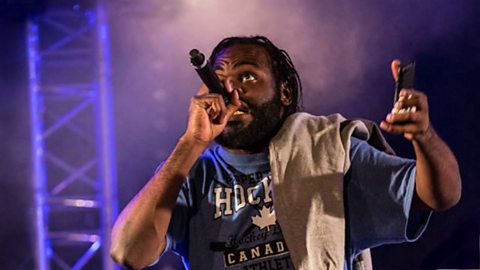 The rapper bringing particle physics to a new audience