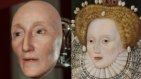 Is this the real face of Elizabeth I?