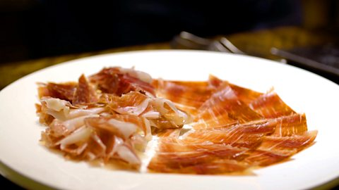 The ham that's cured for seven years