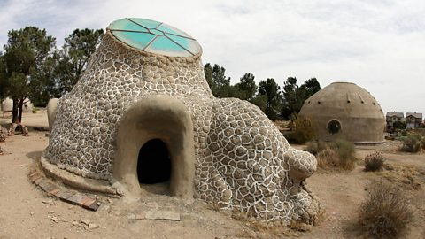 The strange homes designed for Mars