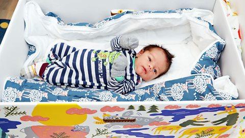 Finland's unique baby boxes