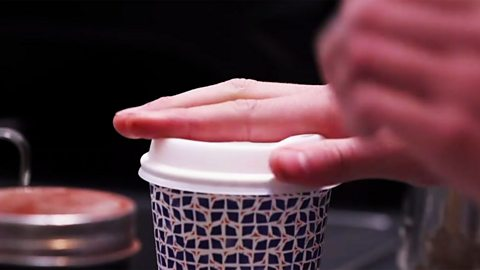 The rise of the posh coffee cup