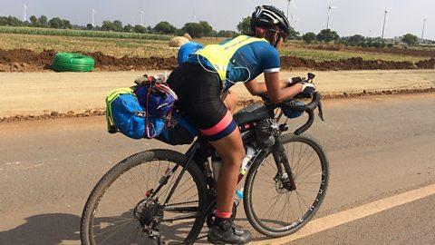 Bournemouth university student cycles around the world