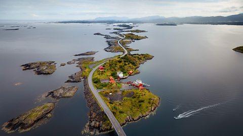 Norway's beautiful but treacherous road