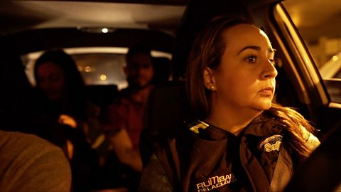 Risky business: Driving drinkers home