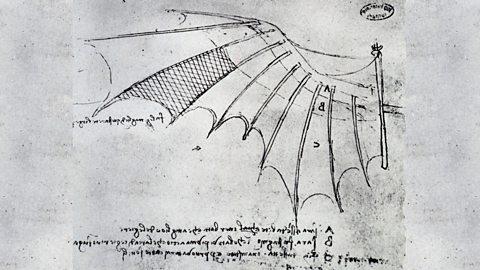 Leonardo's fantastic flying machines