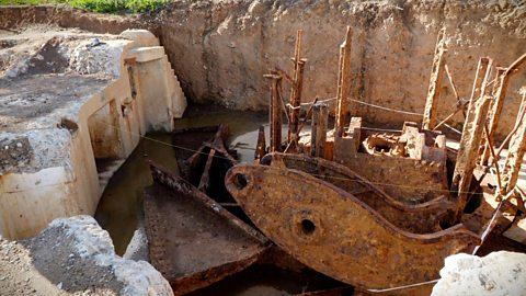 The 'lost' weapon buried for 100 years