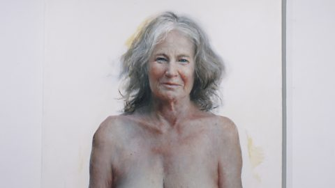 A hyperreal nude redefining beauty