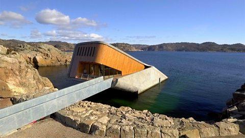 The world's largest undersea restaurant