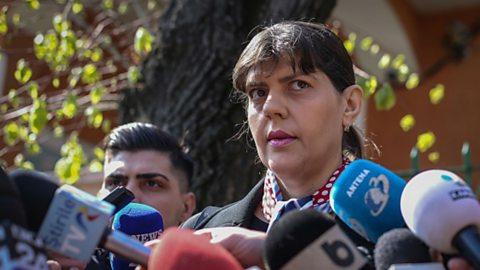 Romanian anti-corruption chief sets sights on the EU