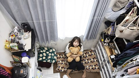 The cupboard-sized flats of Tokyo