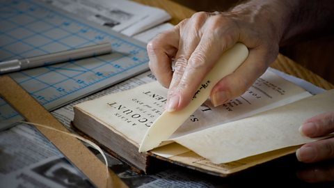The beautiful art of handcrafting books