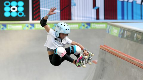 The 11-year-old taking on the world's best skateboarders