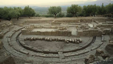 Uncovering an ancient Greek city