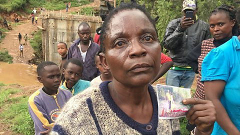 Kenya floods: My daughter drowned trying to save a man