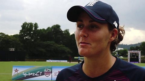 Sciver happy with England century