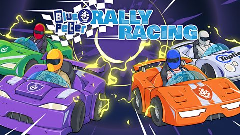 Car Game For Kids Play Free Online Blue Peter Rally Racing Cbbc Bbc
