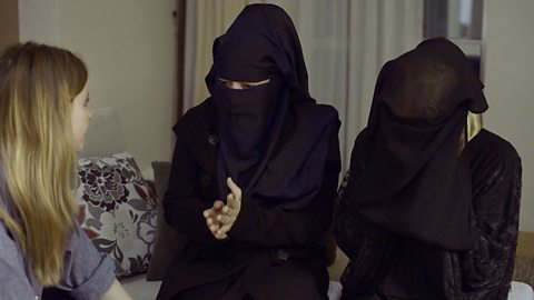 Stacey meets the women who escaped ISIS