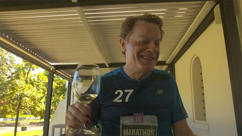 Wine tasting on a marathon?