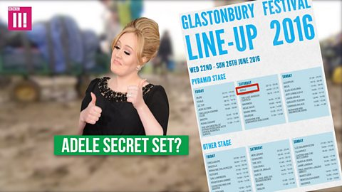 Who might play a surprise set at Glastonbury?