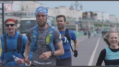 The man running 401 marathons in 401 days